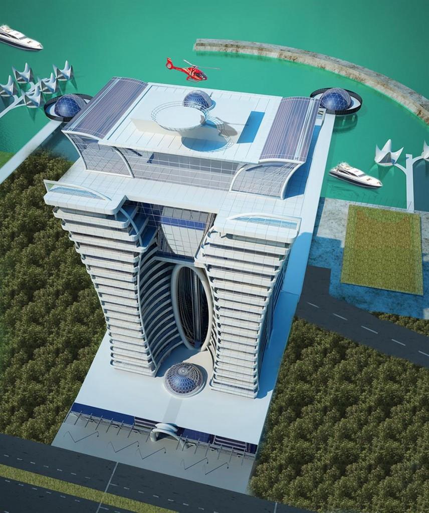 برج مسکونی آفرینش