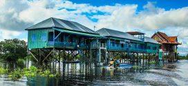 کامپونگ فولک؛ دهکده ای شناور در کامبوج (+عکس)